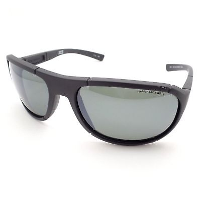 8d64609594 New Wiley X Ace Matte Black Silver Flash Mirror Sunglasses Authentic New  ACACE06