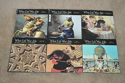 Lot of 6 WHAT LIFE WAS LIKE TIME LIFE BOOKS Japan France Europe Dust jackets
