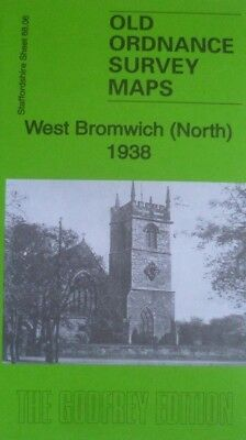 Old Ordnance Survey Maps West Bromwich (North)  Staffordshire 1938 Sheet 68.06