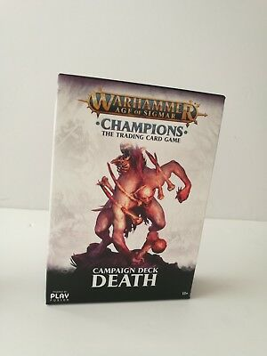 Warhammer: Age of Sigmar - Champions Death Campaign Deck NEW