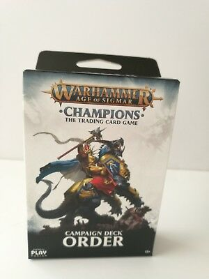 Warhammer: Age of Sigmar - Champions Order Campaign Deck NEW