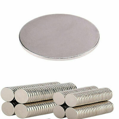 1-100PCS Small Thin Neodymium Disc Magnet N52 Craft Diy NdFeB Magnetic Material