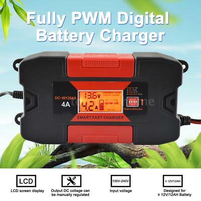 4A 12V Auo Car Smart RoHs Battery Charger With CE P9F9
