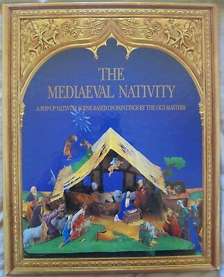 Mediaeval Nativity:a Pop-Up Nativity Scene Based On Paintings By The Old Masters