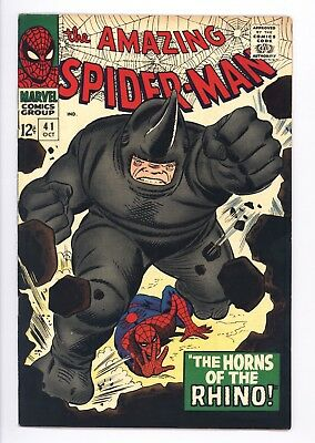 Amazing Spider-Man #41 Vol 1 Near Perfect High Grade 1st Appearance of the Rhino