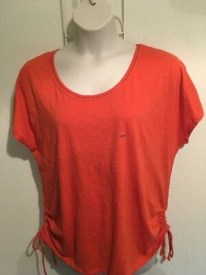 New Lane Bryant Womens Plus Size 18/20 Coral Top
