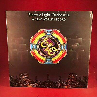 ELECTRIC LIGHT ORCHESTRA ELO A New World Record 1976 UK Vinyl LP EXCELLENT D