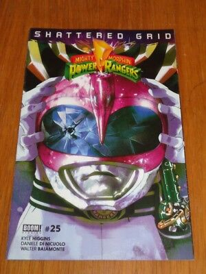 Mighty Morphin Power Rangers #25 Pink Helmet Variant March 2018 Vf (8.0)