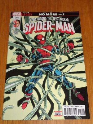 Peter Parker Spectacular Spiderman #304 Marvel Comics July 2018 Vf (8.0)