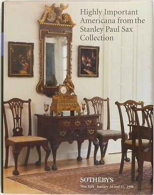 Antique American Furniture & Antiques - Stanley Sax Collection Auction