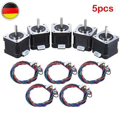 DE Ship Nema 17 Stepper Motor 0.9A 40Ncm 42*42*38mm Schrittmotor 4-wires CNC