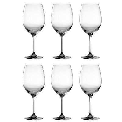 Dartington Crystal Large Red Wine Glasses 650ml Capacity - Pack of 6