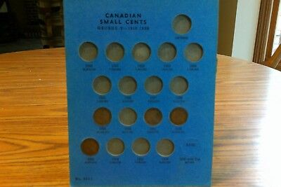 1929-1952 1C BN Canada Cent Collector's Set