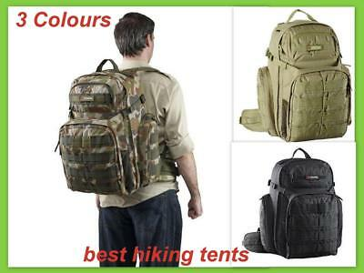 Caribee 50L OPS Military Army Backpack Outdoor Sport Rucksack Day Bag Heavy Duty