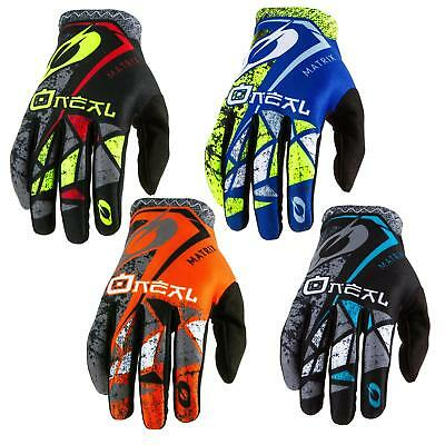 ONeal Matrix Fahrrad Handschuhe ZEN Moto Cross MTB DH MX Mountain Bike Downhill