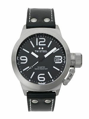 TW Steel Men's Canteen TWCS1 Brushed Steel Strap Watch