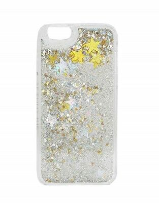 finest selection c5796 8d9c0 SKINNY DIP GOLD Silver Star Sequin Phone Case Samsung S7 with Screen ...