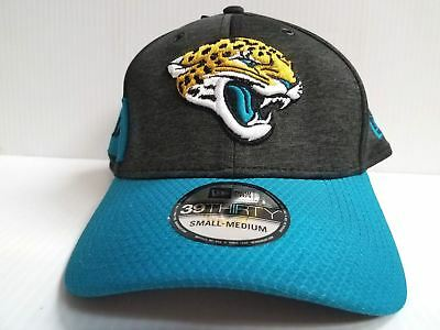 save off d6a77 c9149 Jacksonville Jaguars Cap Era 39Thirty Stretch On Field 2018 Home Sideline  Hat