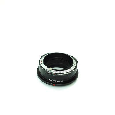 Kipon Contax RF Mount Lens to Micro 4/3 Body Adapter with Integrated Focus Ring