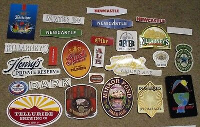 25 BEER STICKER PACK LOT decal craft beer brewing brewery tap handle P
