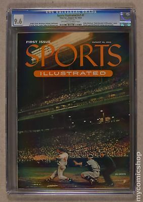 Sports Illustrated #1 1954 CGC 9.6 1497104012