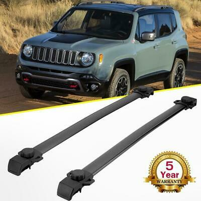 For 2014-2018 Jeep Renegade Roof Rack Cross Bar Crossbar Smooth Luggage Carrier
