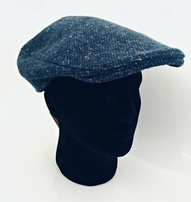 092a6f380259b NEW HANNA HAT Irish speckled brown tweed cap flat soft Ireland ...