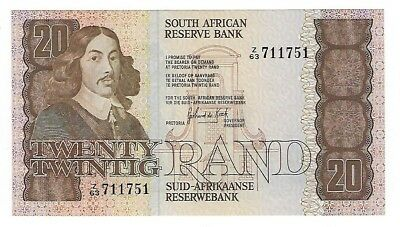 South Africa 20 Rand 1984 Replacement AUnc JO-5582