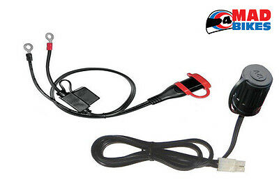 Sat Nav / Phone / Power Supply Kit for Motorcycle Motorbike Scooter etc