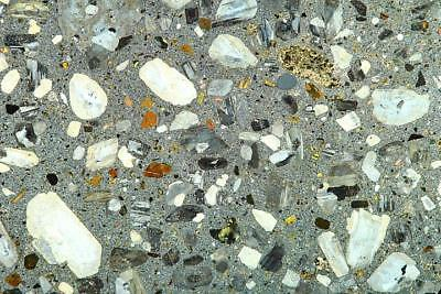 GEOSEC Thinsection geology microscope slide Porphyry Glacial Erratic. N. Ireland