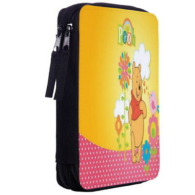 Winnie The Pooh Color Pen Case Bag Stationery Kit p10_01 w2053