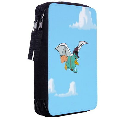 Perry the Platypus Color Pen Case Bag Stationery Kit p10_01 w2099