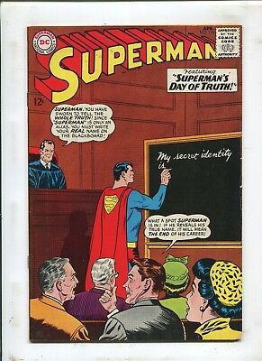 Superman #176 - Superman's Day Of Truth! - (Vg/fn) 1965