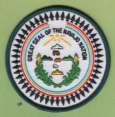 Great Seal Of The Navajo Nation Tribal Shoulder Patch