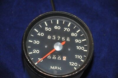 Porsche 912 speedometer 68-69 90274110214 with cable and knurled nut