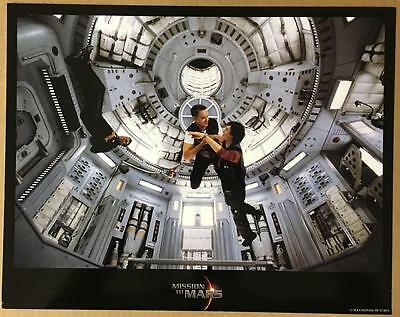 jerry o'connell Tim Robbins Connie Nielsen Mission to Mars 2000 lobby card 1214