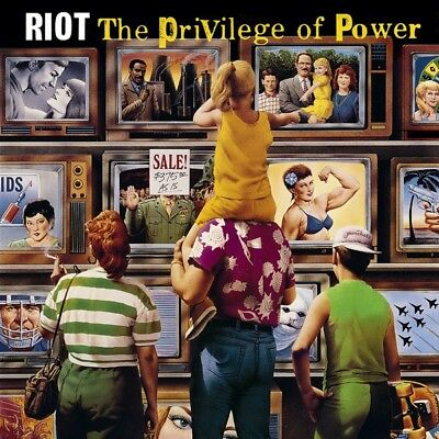 Riot - The Privilege Of Power Vinyl LP (2) Metal Blad NEW