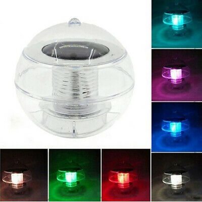 LED Light Solar Power Swimming Pool Automatical Color Light Floating Ball