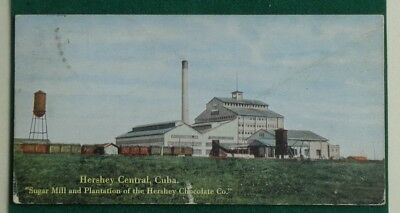 Hershey Central Cuba Sugar Mill and Plantation POSTCARD