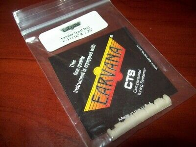 """NEW - Earvana Drop-In Compensated Nut For Fender, 1-11/16"""", 7.25 Radius"""