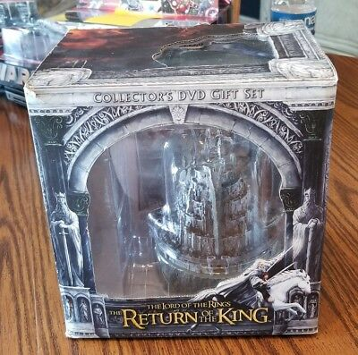 The Lord Of The Rings Return Of The King Collectors Dvd Gift Set Mib New