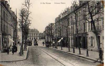 72 Cpa Animee  Debut 1900- Le Mans -Avenue Thiers