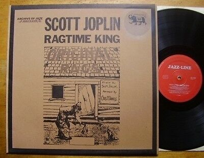 Scott Joplin - Ragtime King - Italy / Ger - Archive of Jazz Vol. 14 KULT MINT