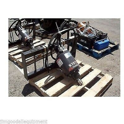 """Bobcat T190-T590 Track Loader Auger by McMillen,X1975 Handles Up To 36"""" Bit"""