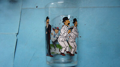 verre à moutarde tintin dupont lombard 1974