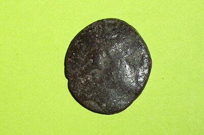 PHILIP V & PERSEUS 185 BC-168 BC Ancient GREEK COIN trident poseidon dolphins ae