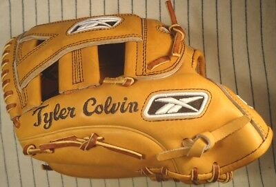 "Unused Tyler Colvin Reebok 12.5"" Professional game baseball glove VRPRO1250 Cubs"