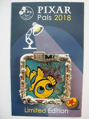 DISNEY Pin DLR Pixar Fest 2018 FINDING NEMO Annual Passholder Exclusive