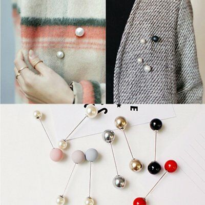 Fashion Pearl Shawl Tippet Pin Costume Brooch Pin Women Jewelry Party Gift New