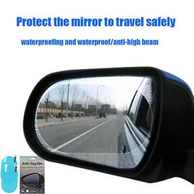 Car Waterproof Mist Film Anti Rainproof Rearview Mirror Glass Protective Film